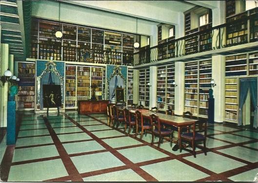 Bibliotheca Collegio S.Framcisco dei PP Barnabiti, Lodo