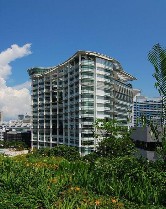 Exterior Singapore National Library