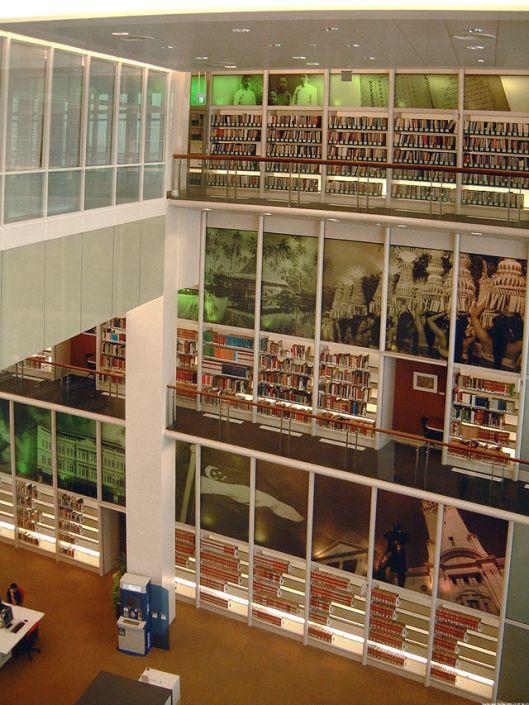 Interior Singapore National Library