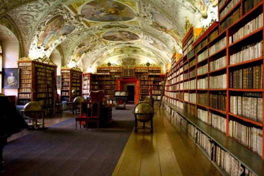 Strahov (klooster)bibliotheek in Praag: de theologische zaal