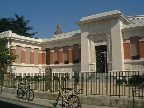 De stadsbibliotheek van Toulouse