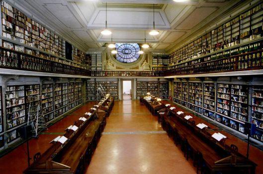 Uffizi bibliotheek in Florence (Tali Amitari-Talib)