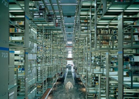 Biblioteca Vasconcelos, Mexico-Ciudad (gevestigd in voormalig centraal station)
