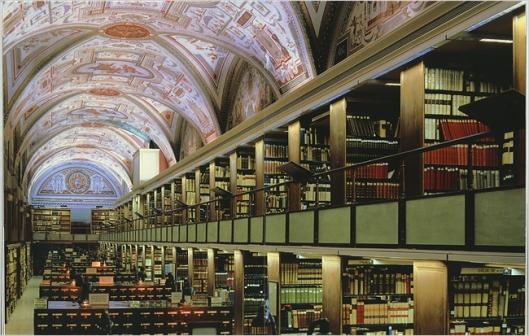 Vaticaanse bibliotheek Rome