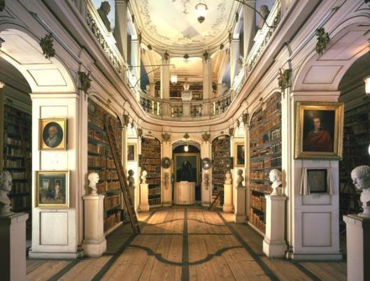 Herzogin Anna-Amalia Bibliothek in Weimar, Duitsland