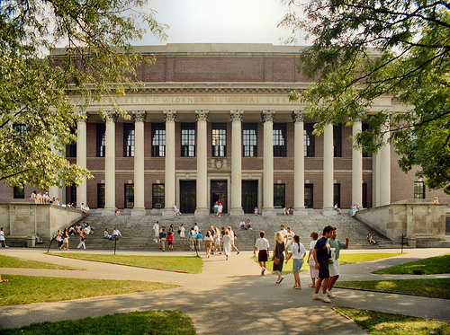 Widener Library, Harvard University, Cambridge, Massachusetts
