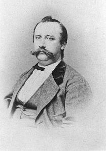 Portret van Johan Winkler (1840-1916 (Wikipedia)