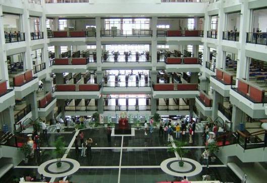 Interior Zhangzhou Campus Libary, Xiamen, China