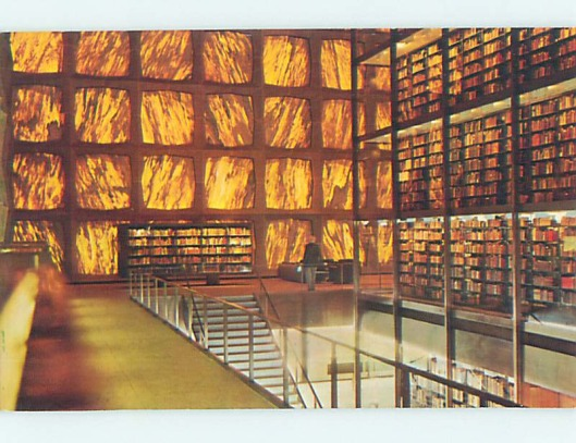 Yale University, Beinecke Rare Book and Manuscript Library, New Haven, Ct., USA