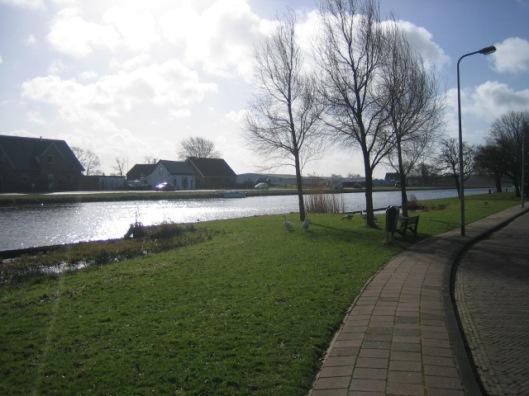 De Ringvaart vanaf de dr.Schaepmanlaan met zicht op de Haarlemmermeer, Zwaanshoek.