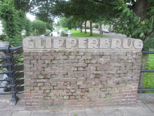 De omstreeks 1930 gebouwde Glipperbrug