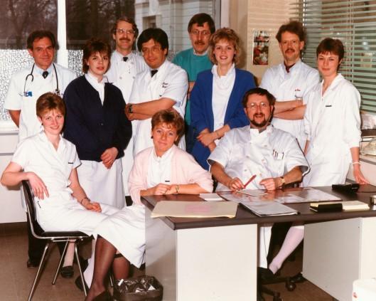 Kinderarts dr. J. de Nef en zijn prachtteam in het Spaarne Ziekenhuis