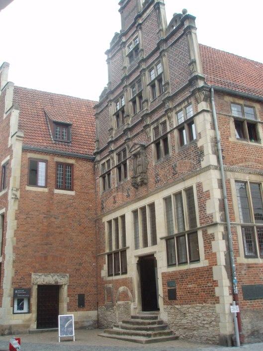 Het 'Krameramtshaus' waar Adriaen Pauw en de andere leden van de Nederlandse delegatie tussen 1646 en 1648 verbleven bij de vredesonderhandelingen met Spanje in Münster