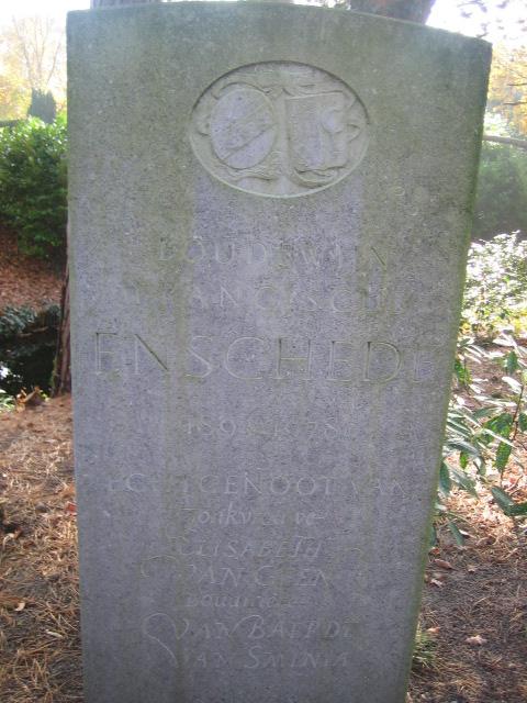 Boudewijn Franciscus Enschede, begraven 9-8-1954