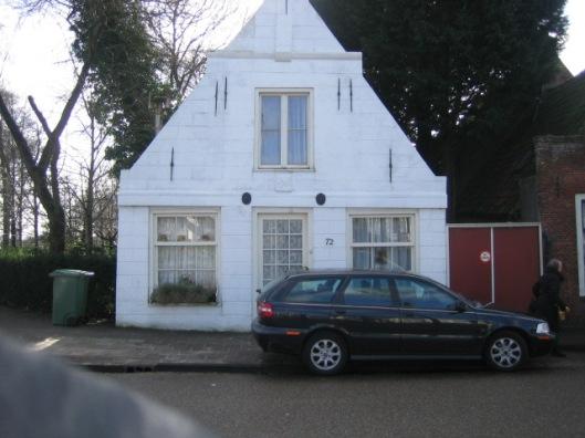 De voormalige bakkerijnering, Glipperweg 70, Heemstede