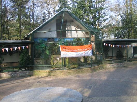 Volière bij kinderboerderij Groenendaal