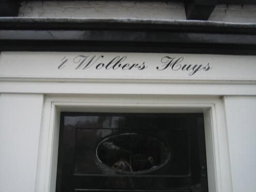 't Wolbers Huijs aan de Zandvaart/Kerklaan in Heemstede