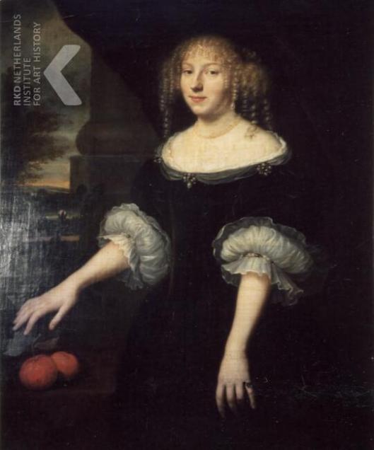 Adriana Pauw, (1652-1713) echtgenote van Francois van Marselis (omg.Peter Nason). foto (Iconografisch Burau)