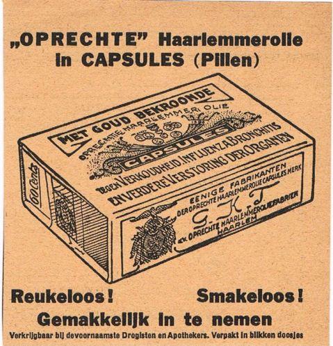 Advertentie'Oprechte' Haarlemmerolie uit 1933
