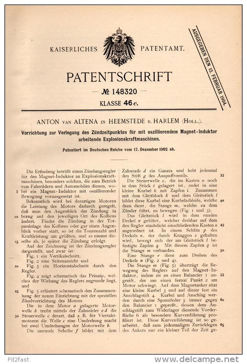 Een Duits patent voor Anton van Altena