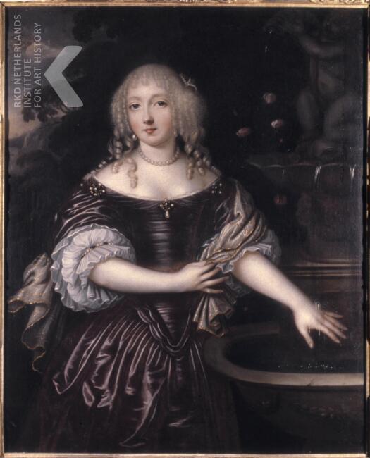Portret van de 'schoone' Anna Maria Pauw (1649-1719)