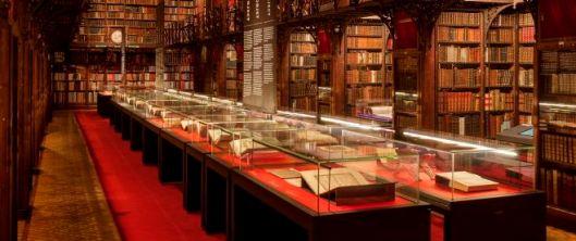 Notebohmzaal in erfgoedbibliotheek Hendrik Conscience, Antwerpen