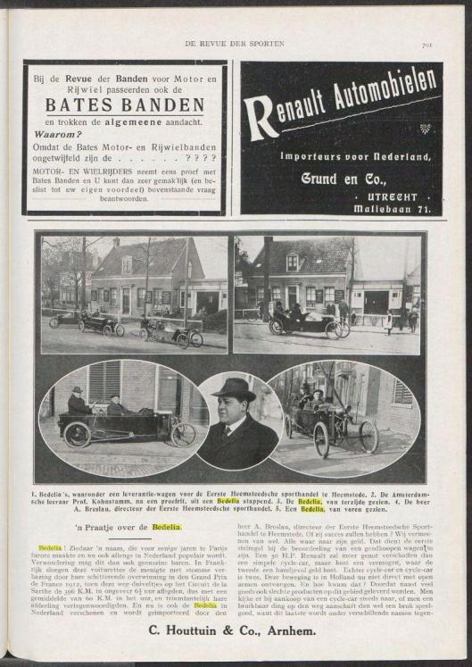 Bericht uit 1913