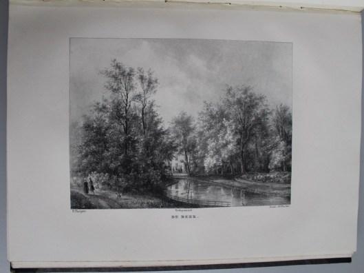 Hofstede de Beek van de heer F.Taunay, gewijzigd door J.D.Zocher en in versvorm bezongen door de dichter J.Messchert van Vollenhoven