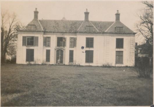 Achterzijde Beeckestijn, Velsen, 1930