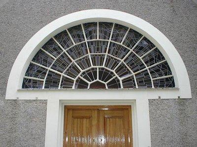Glas-in-lood aula begraafplaats Heemstede (foto Peppy)