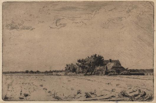 Boerderij bij Bennebroek door J.C.Nachenius, 1918 (Teylers Museum)