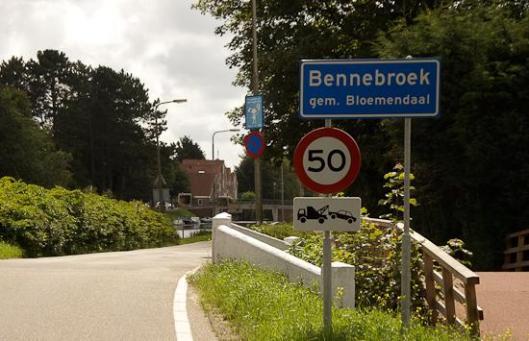 Per 1 januari 2009 is Bennebroek gelegen in de gemeente Bloemendaal