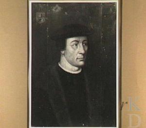 Hendrik van Berckenrode. Paneel, kopie van verloren gegaan origineel (Iconografisch Bureau)