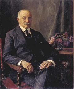 Geschilderd portret van Sally Berg in 1923 vervaardigd door Baruch Lopes de Leao Laguna (coll. Joods Historisch Museum)