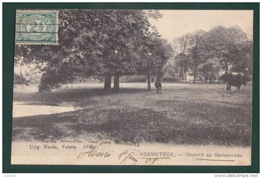 Kaart uit 1908