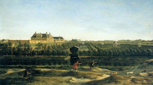 Elswout door Gerrit Adriaenszoon Berckheyde, circa 1670 (Frans Hals Museum)