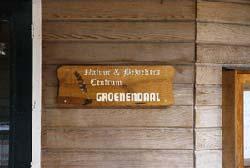 nabij de kinderboerderij bevindt zich tegenwoordig een bezoekerscentrum Groenendaal met wisseltentoonstellingen. Dagelijks geopend van 10 tot 16.30 uur