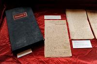 Het manuscript van Casanova's leven, zoals verworven door de Bibliothèque Nationale in Parijs