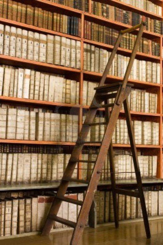 In de bibliotheek van de graaf Von Waldstein