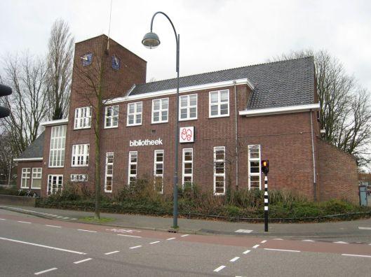 Openbare Bibliotheek Heemstede, in 1930 gebouwd naar een ontwerp van Cornelis van Lennep