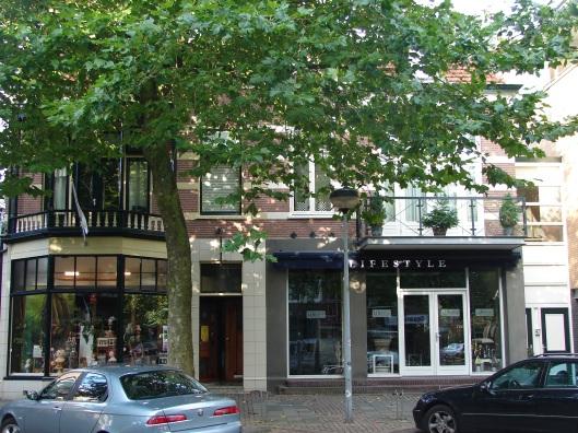 Binnenweg 91 Heemstede, thans met winkel Lifestyle (foto Anja Kroon).