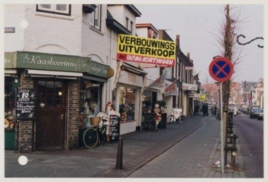 Binnenweg 29: het Kaasboerinnetje. Foto uit 1991