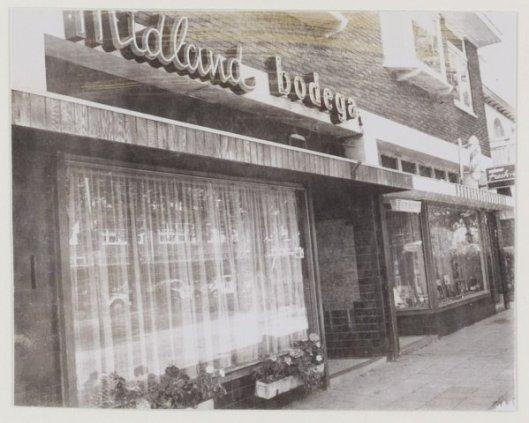 Midland Bodega, Binnenweg 79c Heemstede, 1978.