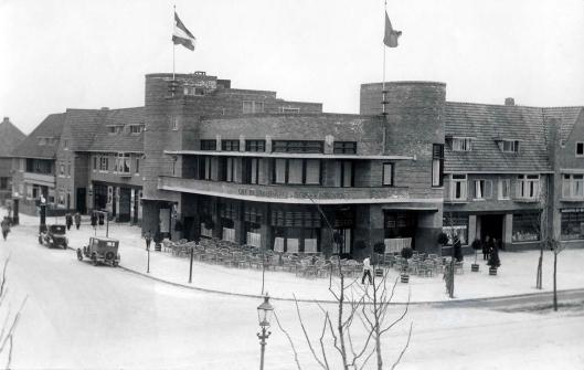 Hotel-restaurant-café Boekenrode in 1929
