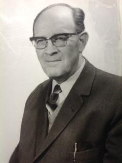 Zoon Hans Bokstijn zond deze portretfoto van zijn vader, de uitgever. Geboren op 9 december 1908 is hij 1 april 1971 overleden.