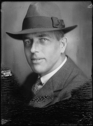 Ir.J.J.Borren, in 1928 gefografeerd door Merkelbach (Stadsarchief Amsterdam)