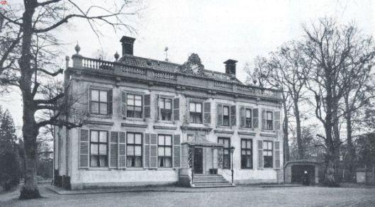 Bosch en Hoven op een foto uit 1922 in het tijdschrift Buiten