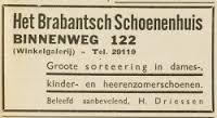 Advertentie van Brabants Schoenenhuis uit 1932