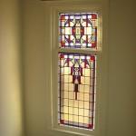 Glas-in-lood raam, Bronsteeweg 76