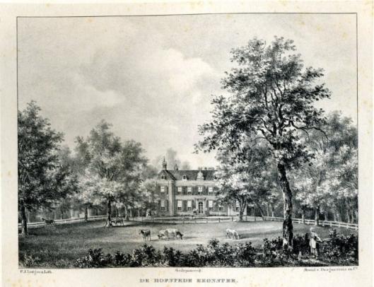 De hofstede Bronstee onder Heemstede (P.J.Lutgers, 1837-1844)